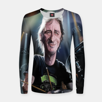 Thumbnail image of Phil Rudd Woman cotton sweater, Live Heroes