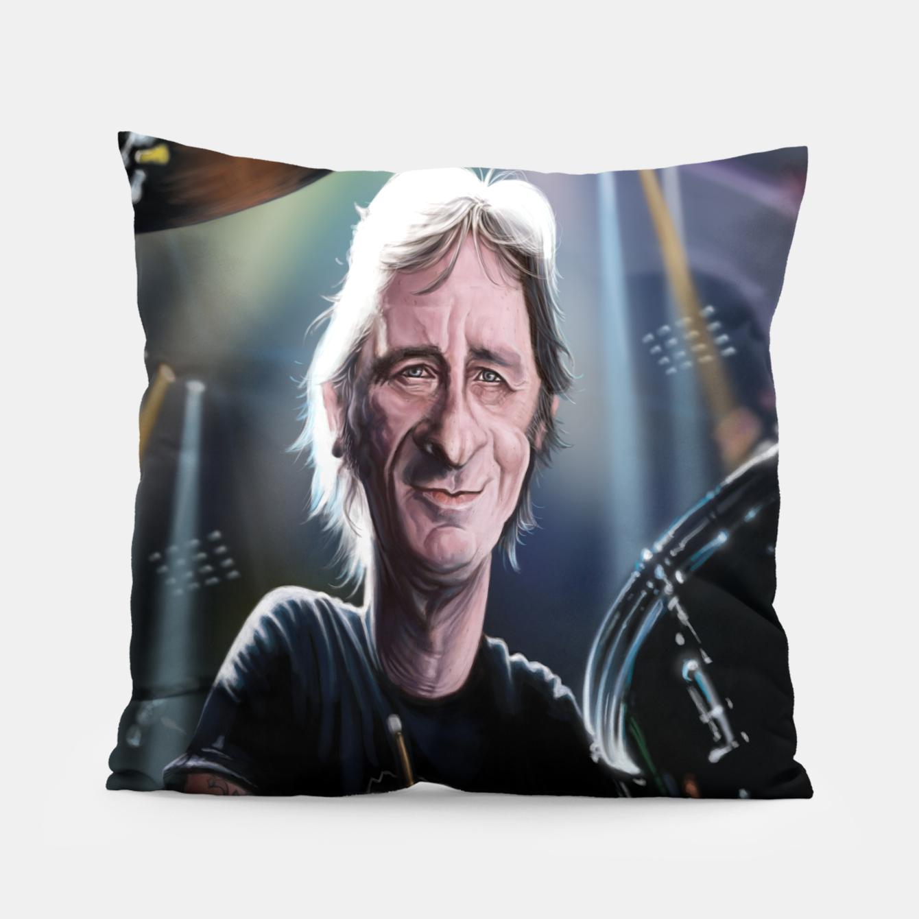 Image of Phil Rudd Pillow - Live Heroes