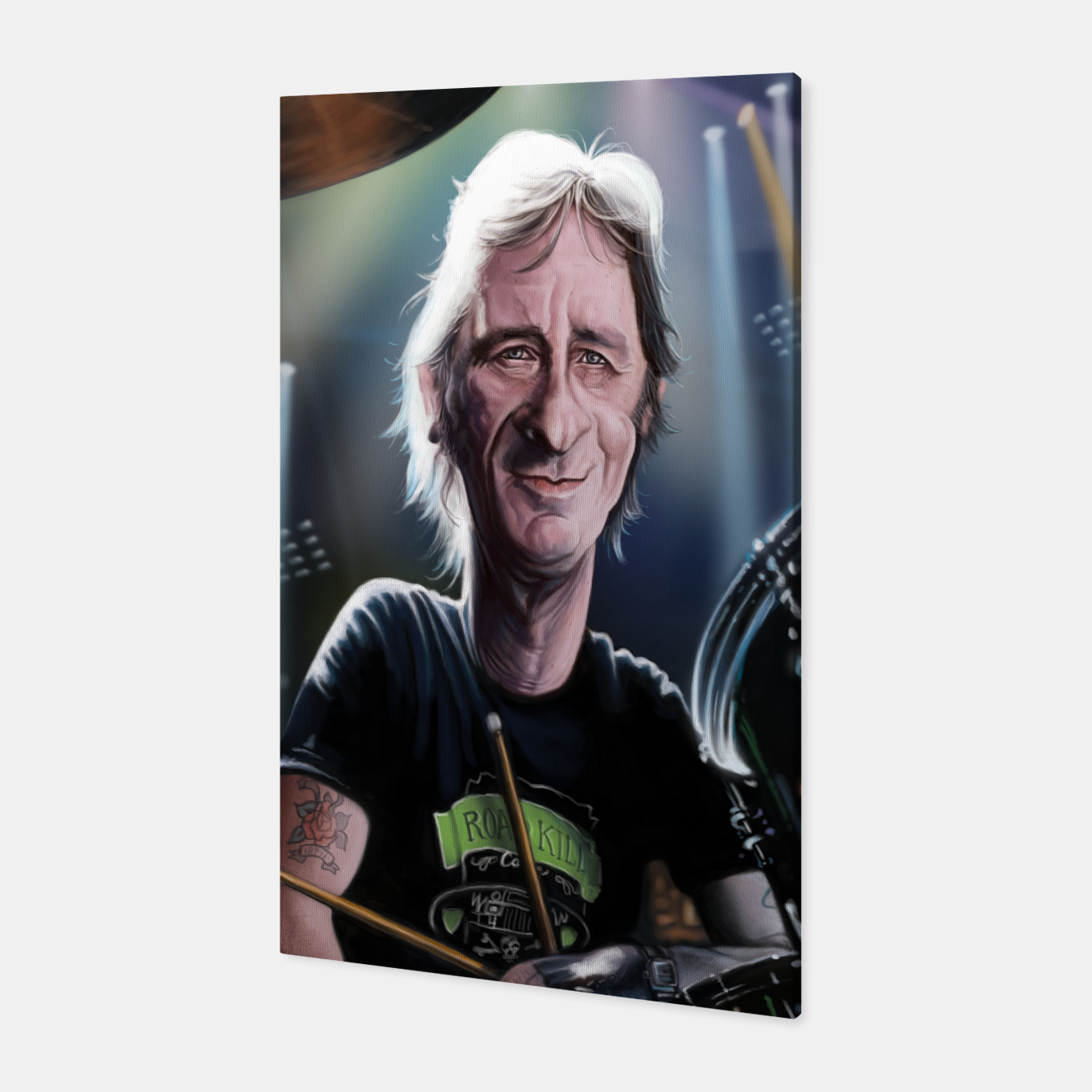 Image of Phil Rudd Canvas - Live Heroes