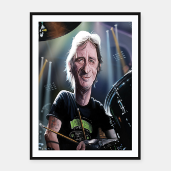 Thumbnail image of Phil Rudd Framed poster, Live Heroes