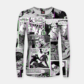 Miniaturka comics Woman cotton sweater, Live Heroes