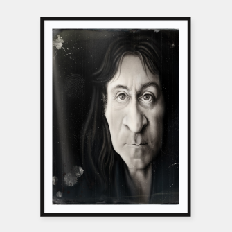 Thumbnail image of Simon Wright Framed poster, Live Heroes