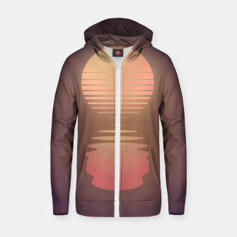 Thumbnail image of The Suns of Time - Retrowave Cotton zip up hoodie, Live Heroes