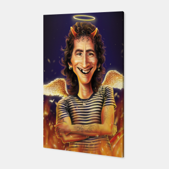 Thumbnail image of Bon Scott Canvas, Live Heroes