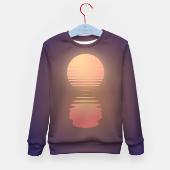 Thumbnail image of The Suns of Time - Retrowave Kid's sweater, Live Heroes