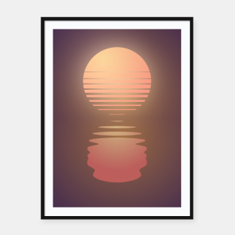 Thumbnail image of The Suns of Time - Retrowave Framed poster, Live Heroes