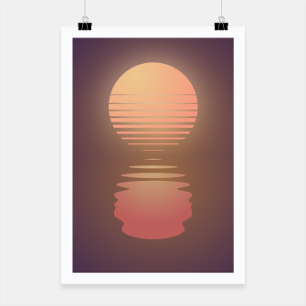 Thumbnail image of The Suns of Time - Retrowave Poster, Live Heroes