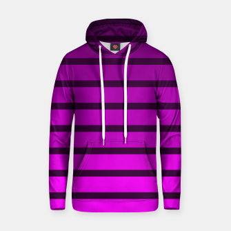 Thumbnail image of Shades of Purple Cotton hoodie, Live Heroes