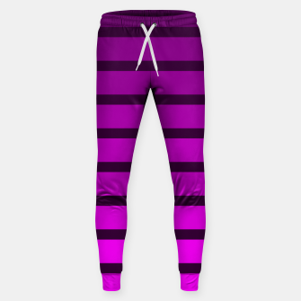 Thumbnail image of Shades of Purple Cotton sweatpants, Live Heroes