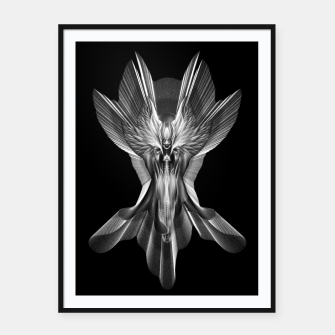 Thumbnail image of Ethereal Beauty Arsencia Setren GSORG Framed poster, Live Heroes