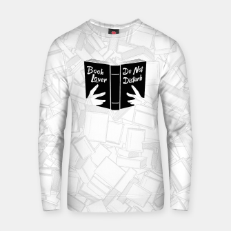 Thumbnail image of Book Lover, Do Not Disturb II Cotton sweater, Live Heroes