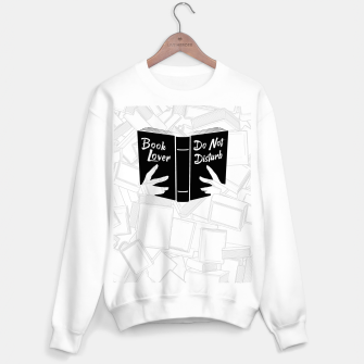 Thumbnail image of Book Lover, Do Not Disturb II Sweater regular, Live Heroes