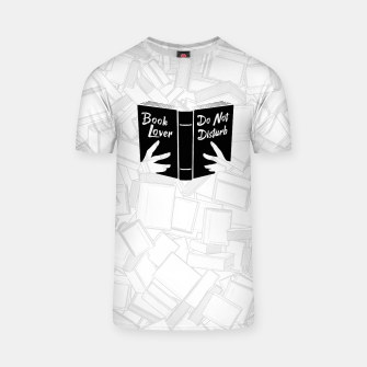Thumbnail image of Book Lover, Do Not Disturb II T-shirt, Live Heroes