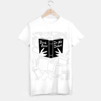 Thumbnail image of Book Lover, Do Not Disturb II T-shirt regular, Live Heroes