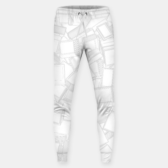 Thumbnail image of Book Lover, Do Not Disturb II Cotton sweatpants, Live Heroes