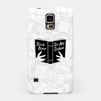 Thumbnail image of Book Lover, Do Not Disturb II Samsung Case, Live Heroes
