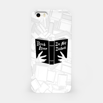 Thumbnail image of Book Lover, Do Not Disturb II iPhone Case, Live Heroes