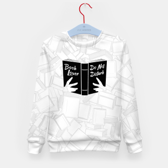 Thumbnail image of Book Lover, Do Not Disturb II Kid's sweater, Live Heroes