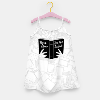 Thumbnail image of Book Lover, Do Not Disturb II Girl's dress, Live Heroes