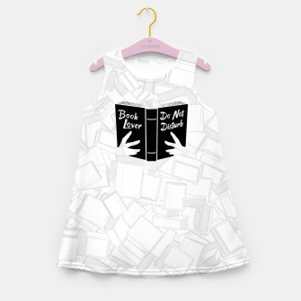Thumbnail image of Book Lover, Do Not Disturb II Girl's summer dress, Live Heroes