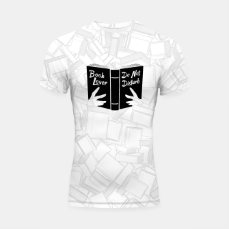 Thumbnail image of Book Lover, Do Not Disturb II Shortsleeve rashguard, Live Heroes