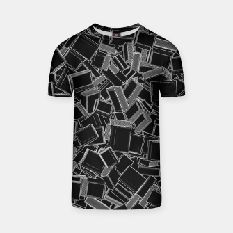 Thumbnail image of The Book Pile T-shirt, Live Heroes