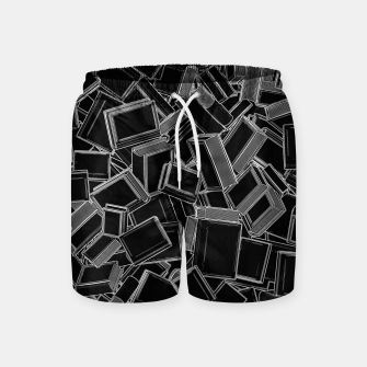 The Book Pile Swim Shorts thumbnail image