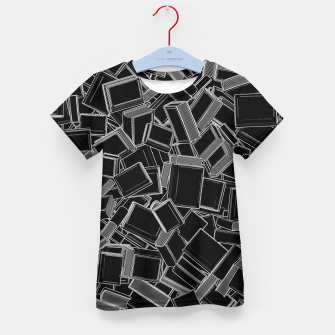 The Book Pile Kid's t-shirt thumbnail image