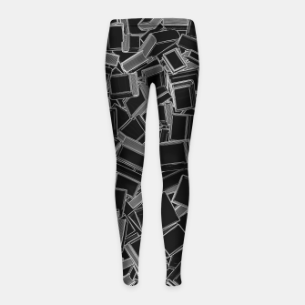 The Book Pile Girl's leggings thumbnail image