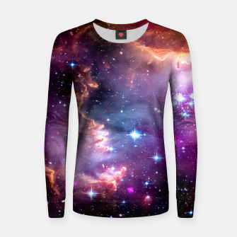 Miniaturka Deep Space Dream Woman cotton sweater, Live Heroes