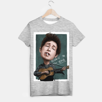 Thumbnail image of Young Bob Dylan T-shirt regular, Live Heroes