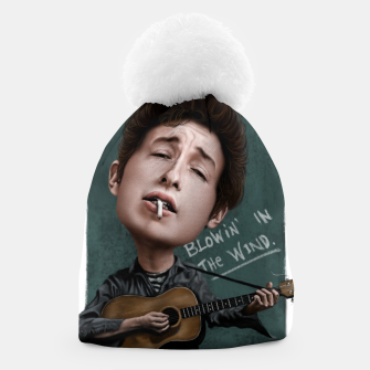 Young Bob Dylan Beanie thumbnail image