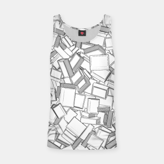 Thumbnail image of The Book Pile II Tank Top, Live Heroes