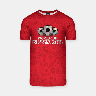 Miniature de image de World Cup 2018 T-shirt, Live Heroes