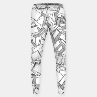 Thumbnail image of The Book Pile II Cotton sweatpants, Live Heroes