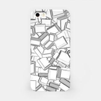 Thumbnail image of The Book Pile II iPhone Case, Live Heroes