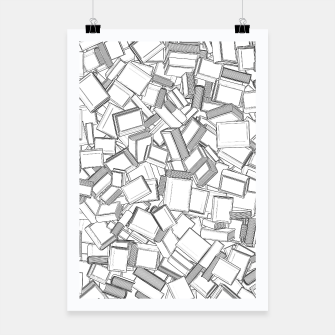 Thumbnail image of The Book Pile II Poster, Live Heroes