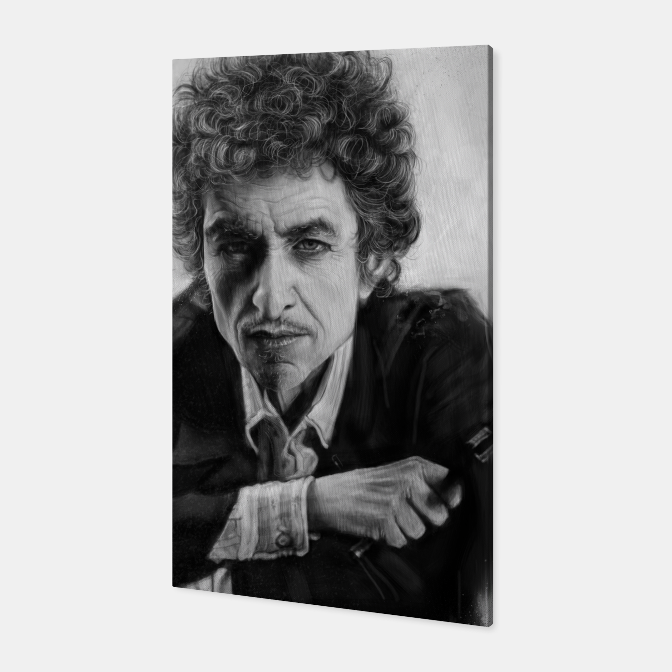 Image of Bob Dylan Canvas - Live Heroes