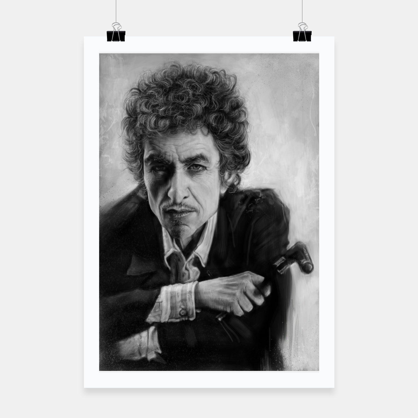 Image of Bob Dylan Poster - Live Heroes
