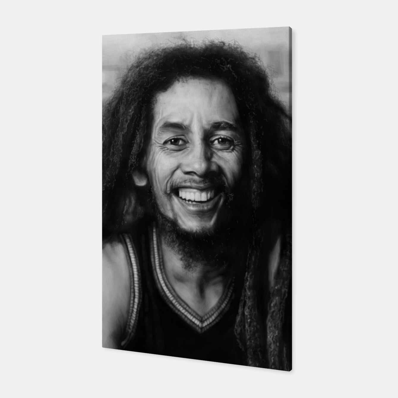 Image of Bob Marley Canvas - Live Heroes