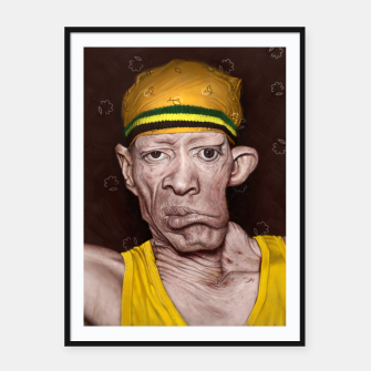 Thumbnail image of Yellowman Framed poster, Live Heroes