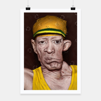 Thumbnail image of Yellowman Poster, Live Heroes