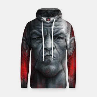 Thumbnail image of Nate Diaz Cotton hoodie, Live Heroes