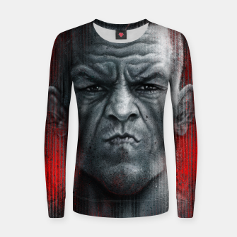 Thumbnail image of Nate Diaz Woman cotton sweater, Live Heroes