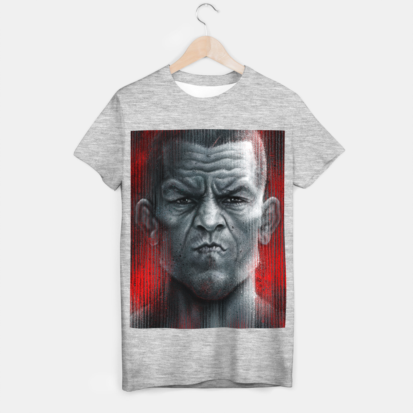 Image of Nate Diaz T-shirt regular - Live Heroes