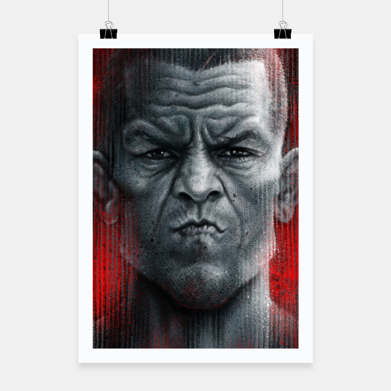 Image of Nate Diaz Poster - Live Heroes