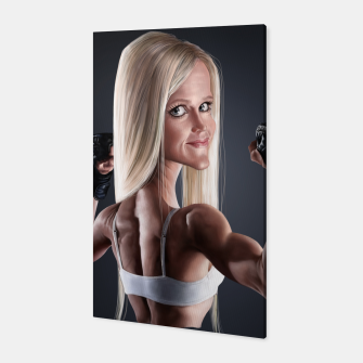 Thumbnail image of Holly Holm Canvas, Live Heroes