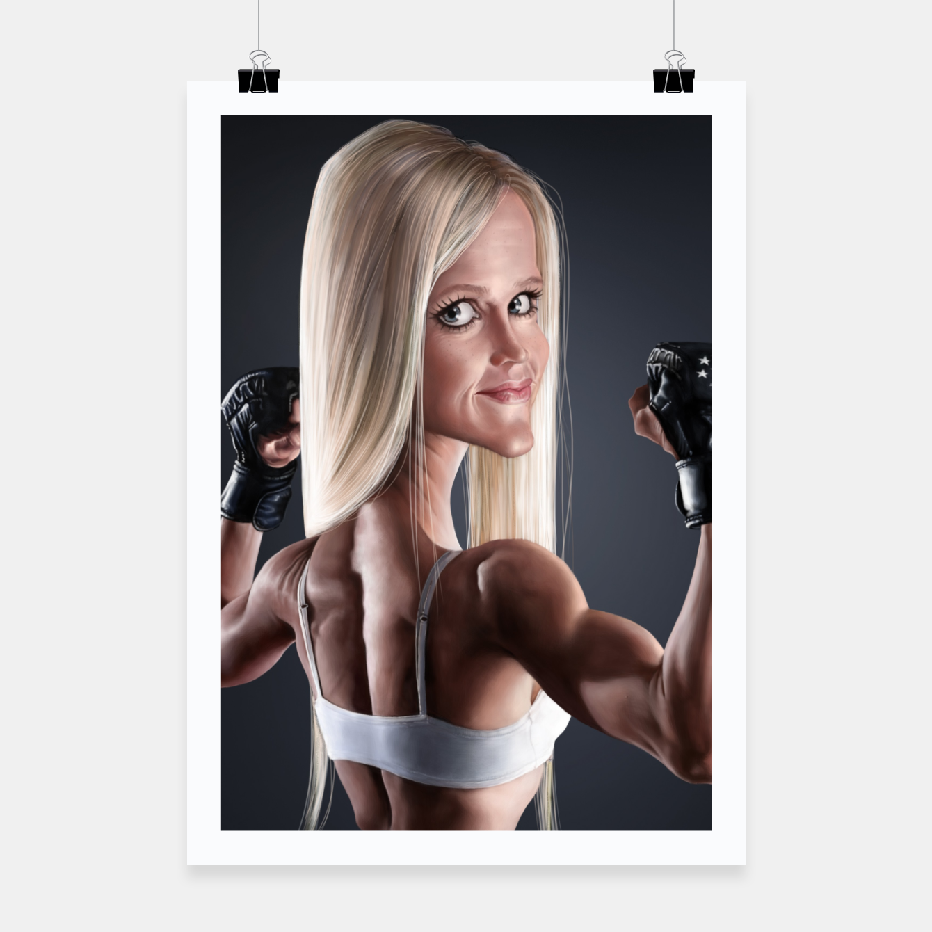 Image of Holly Holm Poster - Live Heroes
