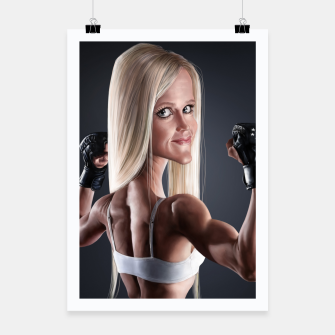 Thumbnail image of Holly Holm Poster, Live Heroes