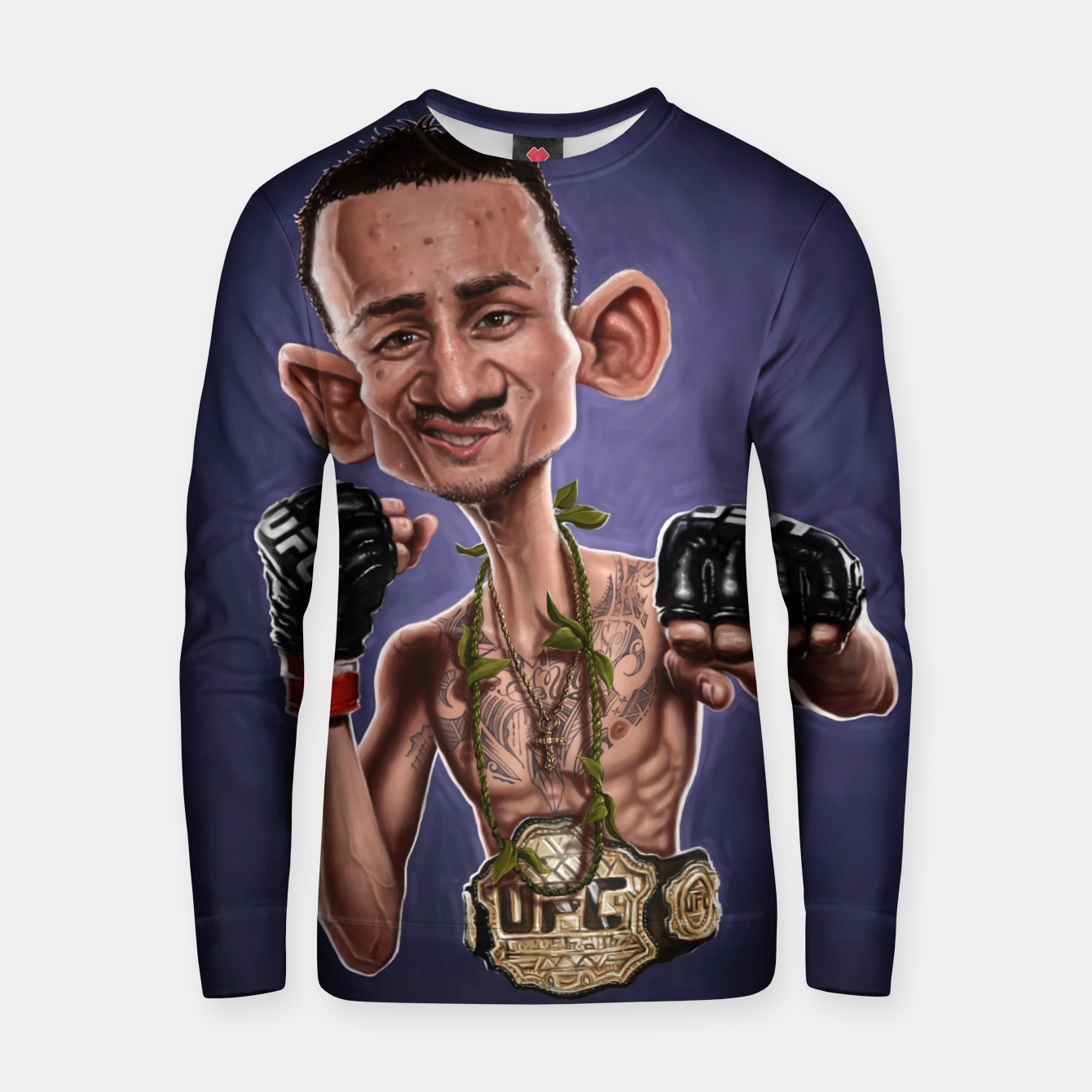 Image of Max Holloway Cotton sweater - Live Heroes